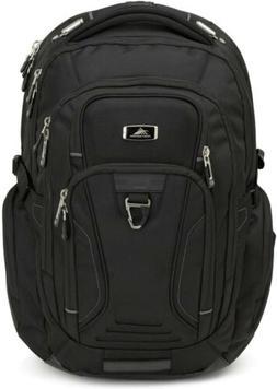 High Sierra Endeavor Business TSA Elite Backpack, Black