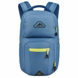 "High Sierra Everyday Backpack Light Blue Solid 15"" Laptop"