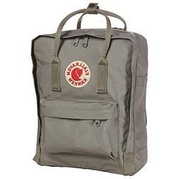 Fjallraven F23561-021: Light Grey Mini Kanken Daypack Backpa
