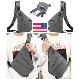 Fashion Chest Bag Personal Anti-Theft Backpack Shoulder Pock