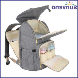 SUNVENO Fashion Diaper Bag Mommy Maternity Nappy Bag Large C