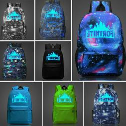 Fashion student school Backpack Book Bag Teenagers Night Lum
