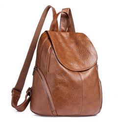 Fashion Women Backpacks PU Leather Backpack Shoulder Bags Da