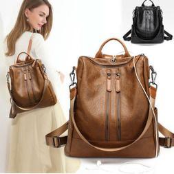 Fashion Women Ladies Shoulder Backpack Messenger Handbag  Re