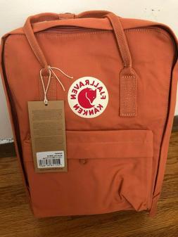 Fjallraven Kanken 16 L Backpack -Burnt Orange -New