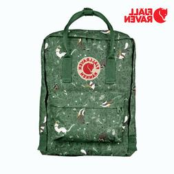 fjallraven ken 16l forest green backpack fox