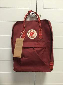 Fjallraven Kan ken 16L Winered Backpack School Waterproof Ca