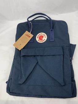 Fjallraven Kan ken Classic 16L Navy Blue Backpack School Wat