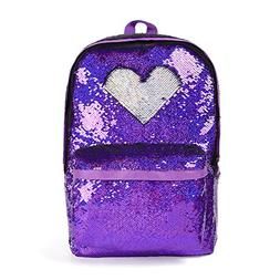 flippy reversible sequin school backpack