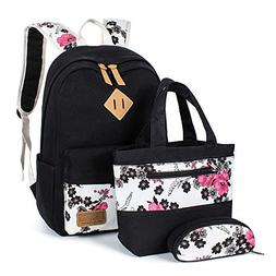 Leaper Floral Backpacks Teen Backpacks School Bags Bookbags