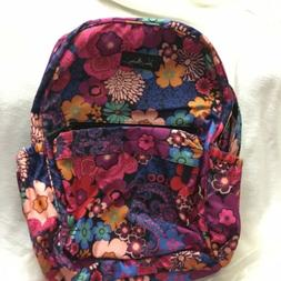 Vera Bradley  FLORAL FIESTA Backpack with Padded Laptop Comp