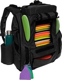 BagLane Fusion Elite Disc Golf Backpack Bag w/Seat & Cooler-