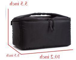 G-raphy Waterproof Shockproof Camera Bag Backpack Insert Bla