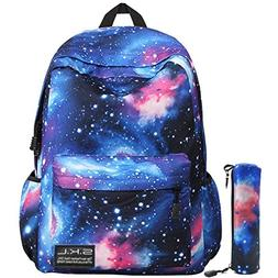 Galaxy School Backpack, SKL School Bag Student Stylish Unise