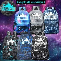 Galaxy Thunder Backpack Book Bag Teenagers Night Luminous St