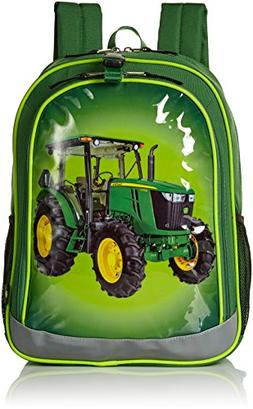 NEW John Deere Green Tractor  Backpack Book Bag LP51868