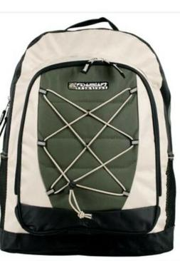 Green Trail Maker Bungee System Outdoor Backpack