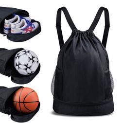 Gym Drawstring Bag SKL Sport Basketball Backpack Water Resis