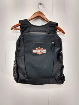 Harley Davidson NWOT Black Backpack with Laptop Electronics