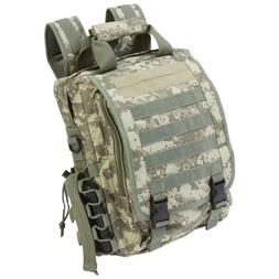 BACKPACK Heavy Duty Digital Camo TACTICAL DAY PACK Water Res