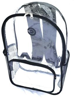 RadiusGEAR Heavy Duty Clear PVC Backpack – Stadium Approve