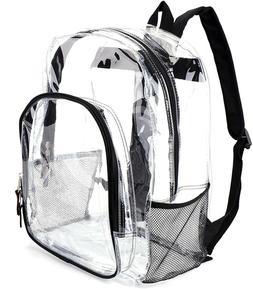 Heavy Duty Transparent Clear Backpack Jomparo Hiking School