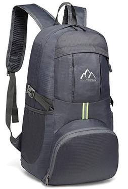 VASCHY Hiking Backpack, Lightweight Water Resistant Collapsi