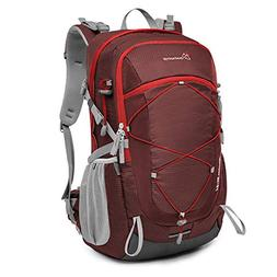 MOUNTAINTOP 40 Liter Unisex Hiking/Camping Backpack Water-Re