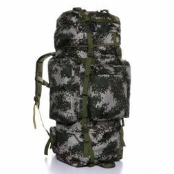 Hiking Camping Bag Army Military Tactical Trekking Rucksack