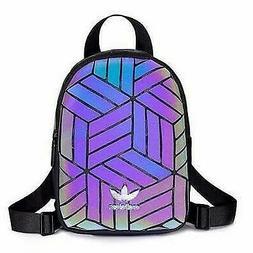Adidas Holographic Mini Backpack Festival School Bag
