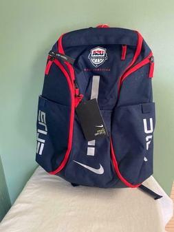 Nike Hoops Elite Pro Backpack - New Red White Blue Team USA