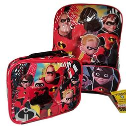 "Disney Incredibles 2 Molded Front 16"" Backpack Tote, One Siz"