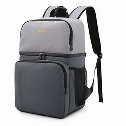 09807314950a01 TOURIT Insulated Cooler Backpack Double Deck Light Lunch Bac