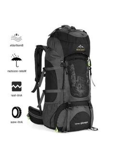 NACATIN Internal Frame 70L Backpack Water-Resistant Hiking D