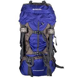 WASING 55L Internal Frame Backpack Hiking Backpacking Packs