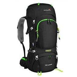 Mountaintop 60L Internal Frame Backpack Hiking Backpacking P