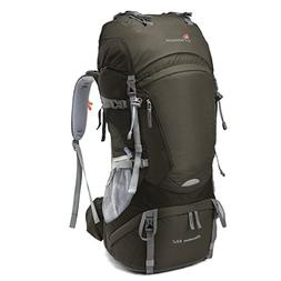 Mountaintop 65L Internal Frame Backpack Hiking Backpack with