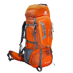ONEPACK 80L Internal Frame Hiking Backpack for Women and Men