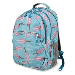 J World New York Women's Sunrise Rolling Fashion Backpack, I