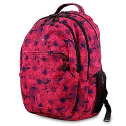 J World New York Women's Sunrise Rolling Fashion Backpack, B