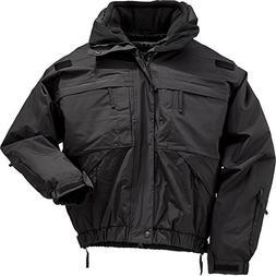 5.11 Tactical 48017 Men's Black 5-in-1 Jacket, Patrol, Polic