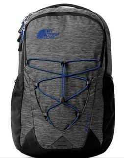 The North Face Jester Backpack - New, Black Heather and Blue
