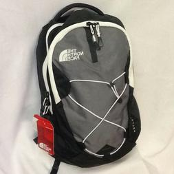 The North Face Jester laptop backpack book bag Black Gray Da