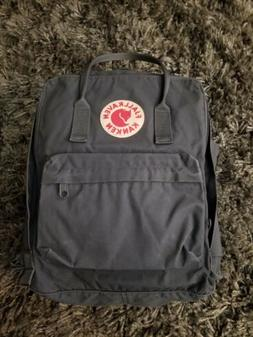 kanken classic backpack in black