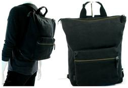 ECCO Kasan Easypack Canvas Cow Leather black