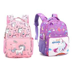 Kindergarten Unicorn Little Girls Boys Kids School Bags Book