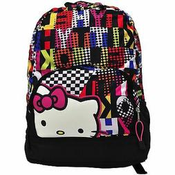 "17"" Large Hello Kitty Backpack W/ Padded Laptop Compartment"