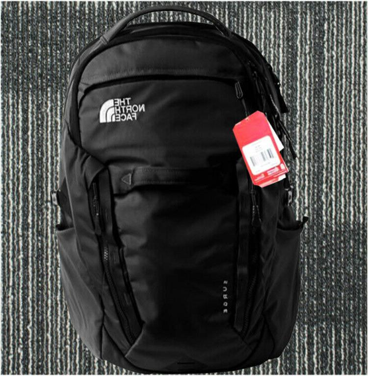 100% Full Tag North Face's Backpack Women's Surge 31L Black