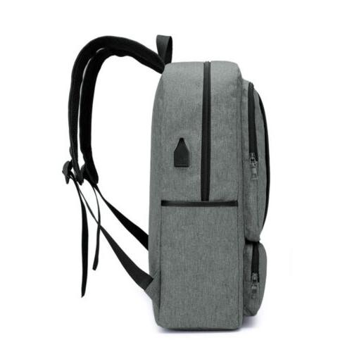 "15.6"" Laptop Backpack Business Travel Bag USB Port"