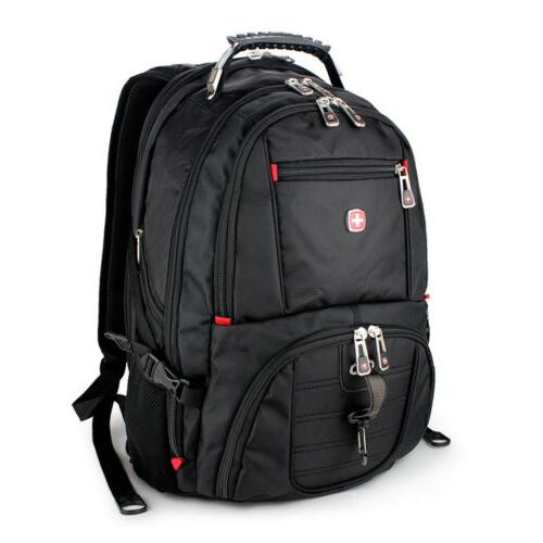 New Black Swiss Gear Waterproof Laptop Travel Bag Macbook Hi